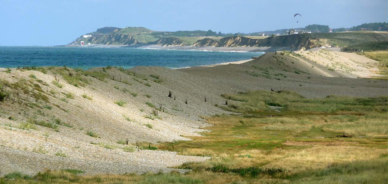The north Norfolk coastline